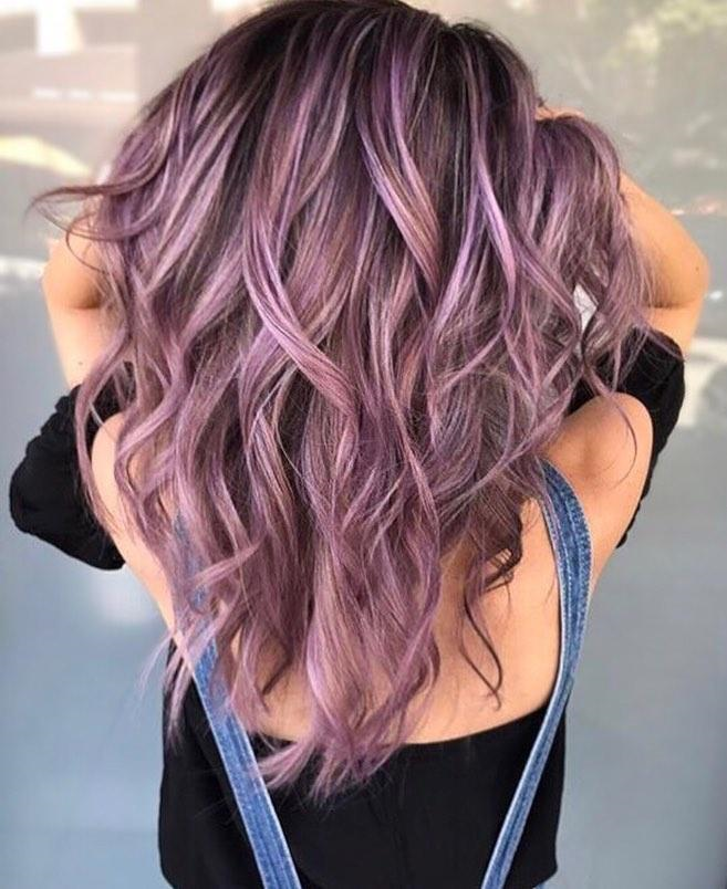 Purple Hair, Don't Care:  Advice on The Best Way to Color Your Hair Purple